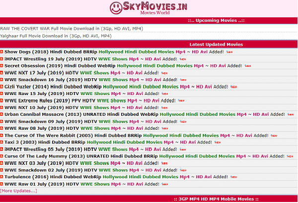 Skymovies in Hd Hollywood in Hindi