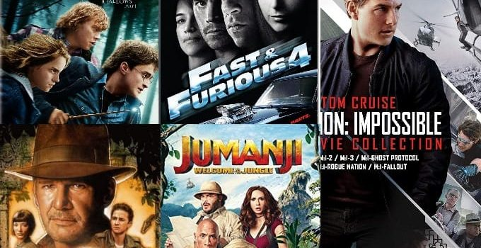Hollywood Movie Series On Amazon Prime